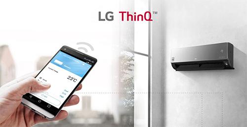 Steruj i monitoruj za pomoca aplikacji LG
