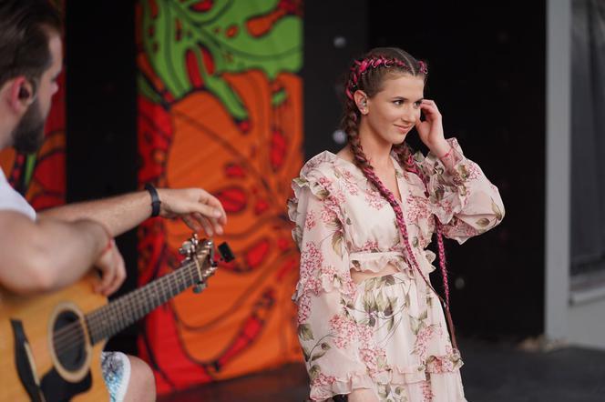 Roksana Węgiel ćwiczyła przed koncertem na Dominikanie!