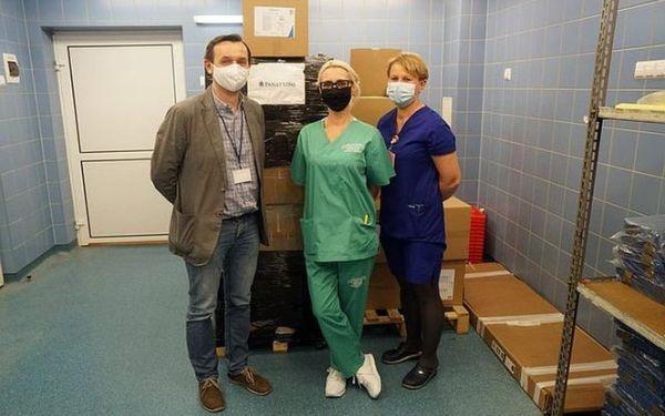Panattoni na pomoc medykom przeznaczył 500 000 zł