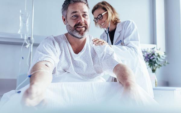 Ćwiczenia w szpitalu po operacji bariatrycznej